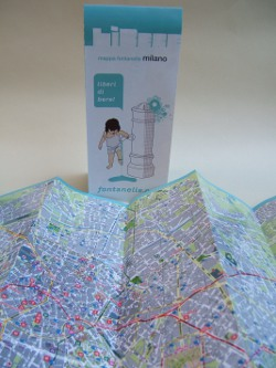 Mappa pontanelle Milano